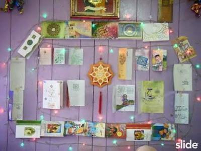 #cabaran20hari, nostalgia kad raya, kad raya dulu-dulu