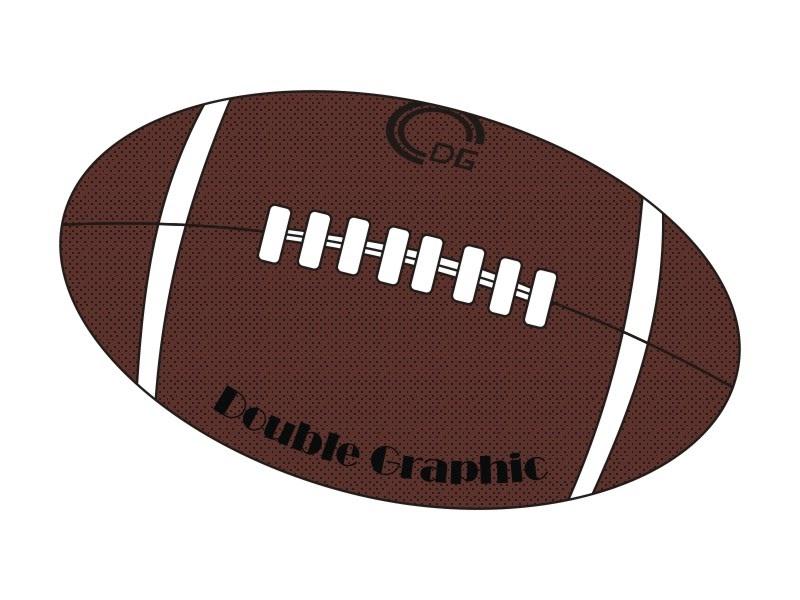 bola de futebol americano desenho desenho dg