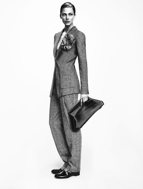 Giorgio Armani's AW12 campaign shots
