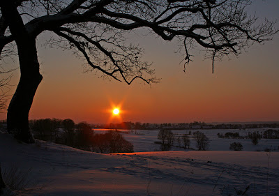 Winter solstice in Denmark, 2010