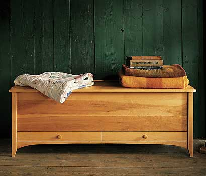 Large Storage Pieces: Blanket Chests