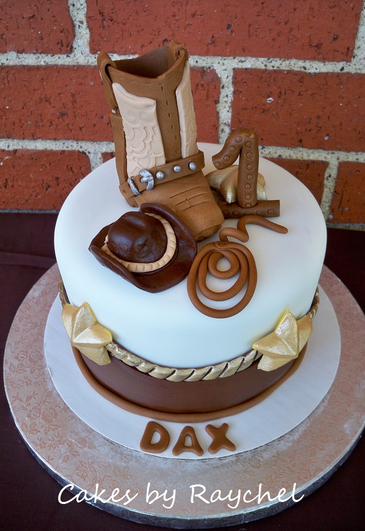 My Creative Way 1st Birthday Cowboy Boot Cake Sweet Friday