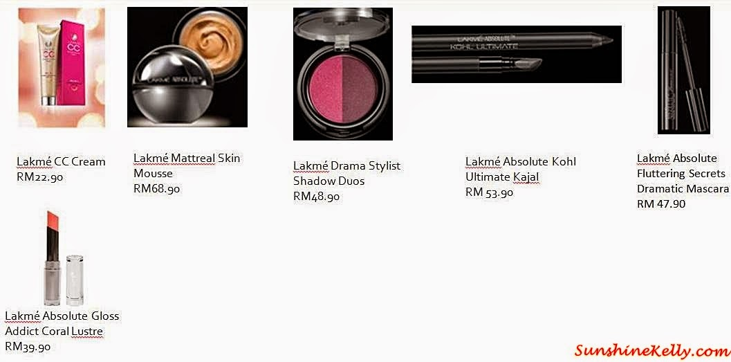 Skin is In, Sweet Siren, Young Diva Look with Lakme, Lakme Malaysia, Lakme Cosmetics, Lakme Absolute Gloss Addict, Lakme Mattreal Skin Mousse