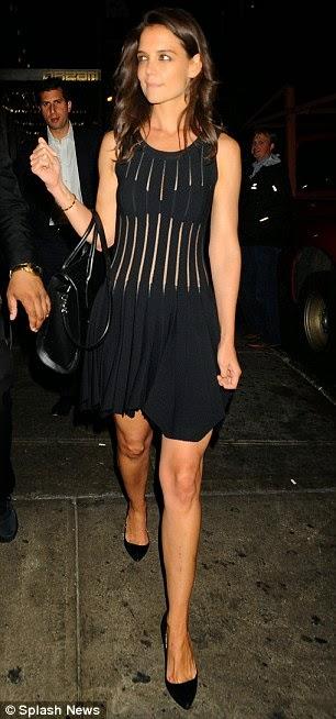 Katie Holmes, Katie Holmes dress, Katie Holmes  DuJour magazine