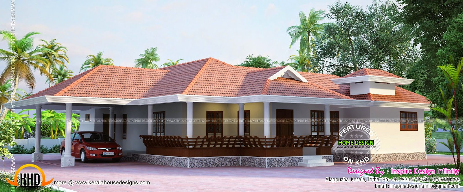 Kerala model house exterior kerala home design and floor plans - Kerala exterior model homes ...