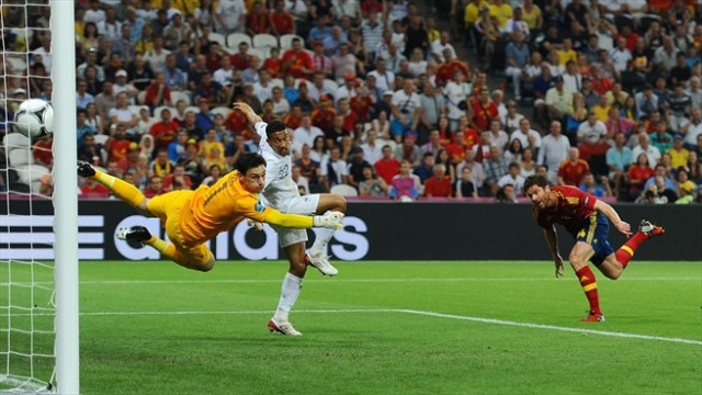Spanyol vs Perancis
