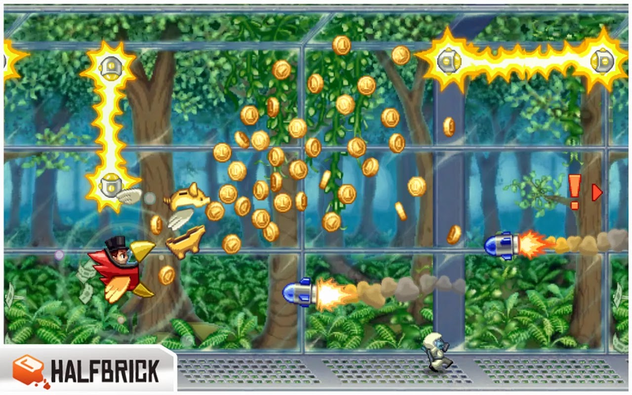 Jetpack Joyride v1.7.2 Mod [Unlimited Money]