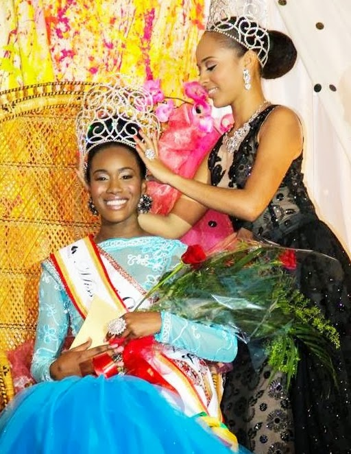 Miss Dominica 2014 Francine Tiffany Baron