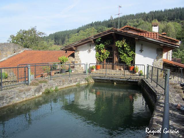 Molino de Olabarri en Zeanuri (Bizkaia)
