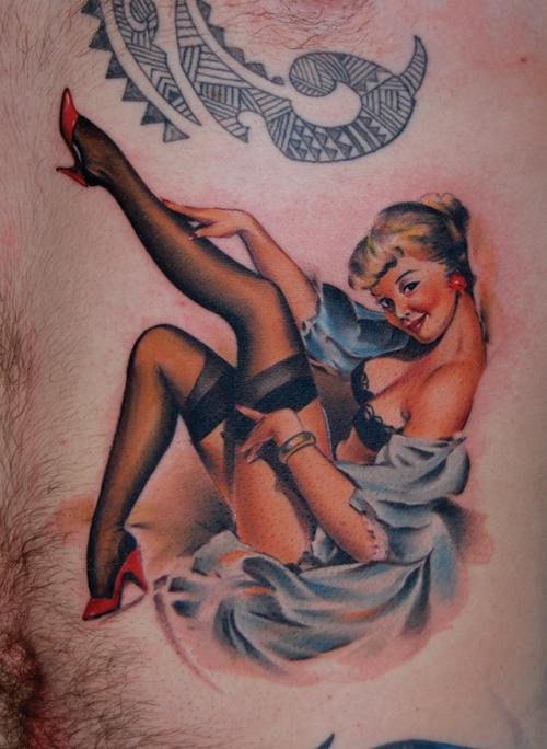 Pin Up Girl Tattoo Designs A   Tattoodonkeycom