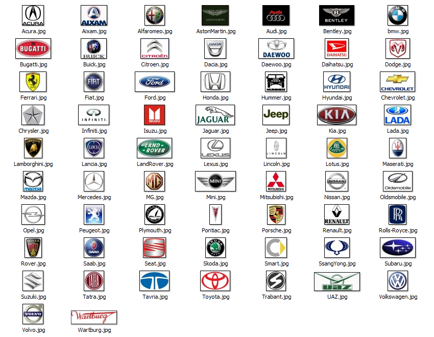 Car Brand Logos Uk