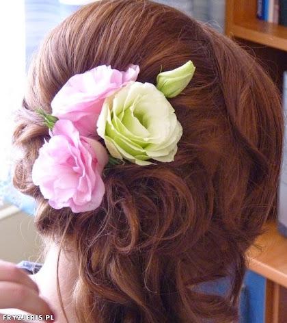 fryzura ślubna 75