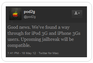pod2g about the untethered jailbreak iOS 5.1.1