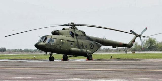 Heli MI-17 Diduga Jatuh Akibat Topan Haiyan..??