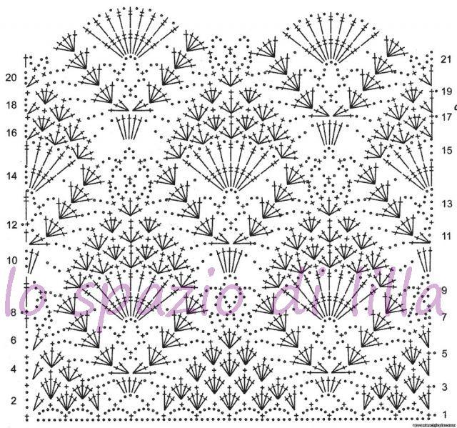 Вязание крючком рисунки и их описание 321