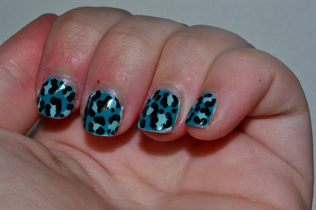 Cheetah Nail Art by Elins Nails