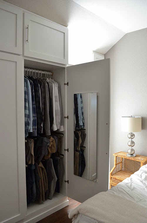 . The Happy Homebodies  DIY  How to Build a Wall of Closets From Scratch