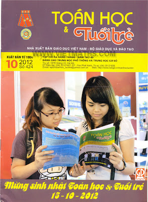 tap chi toan hoc tuoi tre so 424 nam 2012, thtt so 424