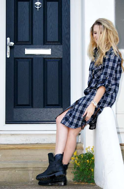 pretty little thing shirt dress