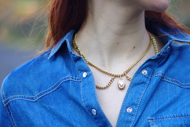 Collection of 8 original DIY necklaces {via www.fashionrolla.com}