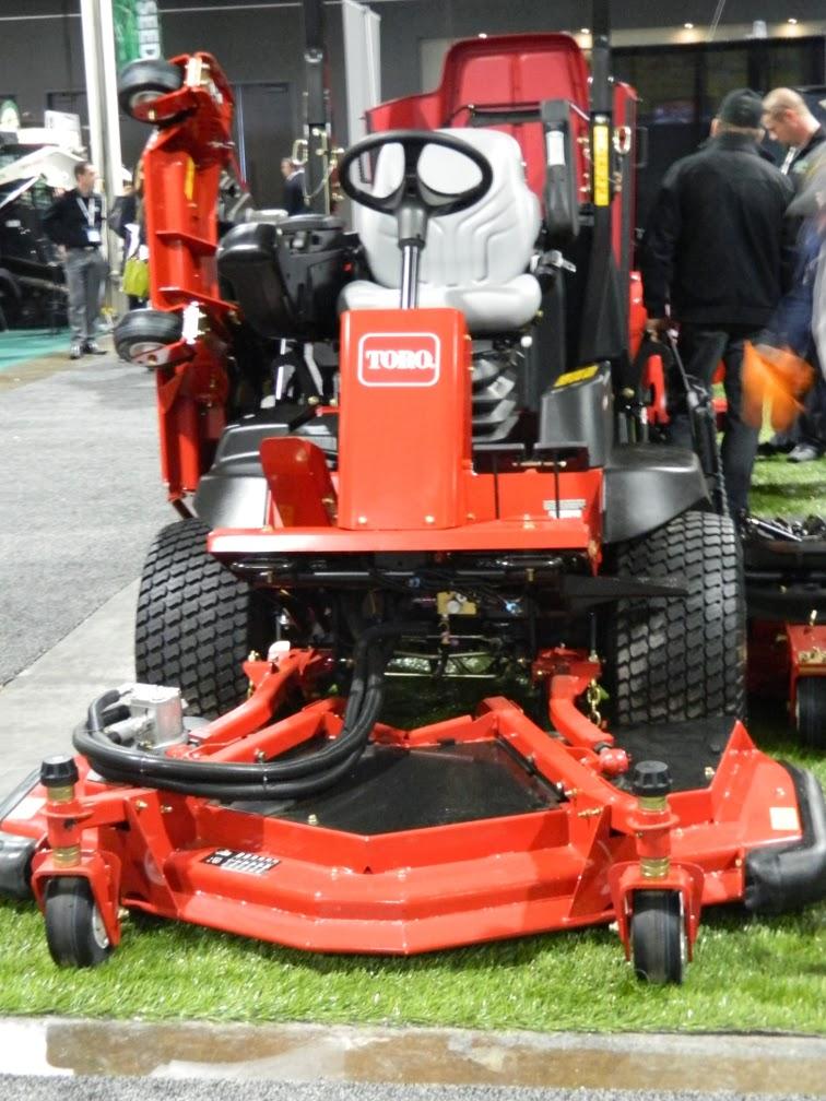 Landscape Ontario 2014 Congress Toro lawn mower by garden muses-a Toronto gardening blog