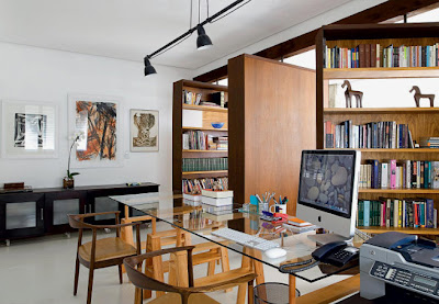desain ruang kantor di rumah model desain rumah terbaru