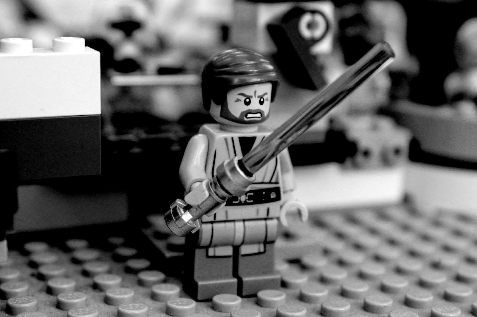 Obi Wan Kenobi Lego // 76sunflowers