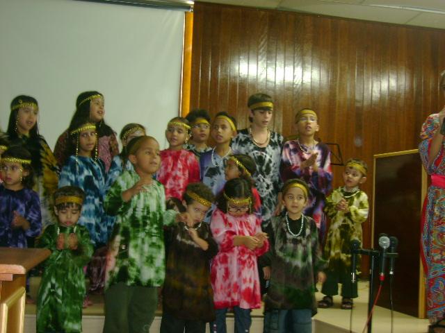 Cantata de infantil de NATAL - 2010