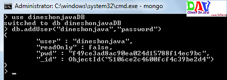 Authentication to MongoDB with Java