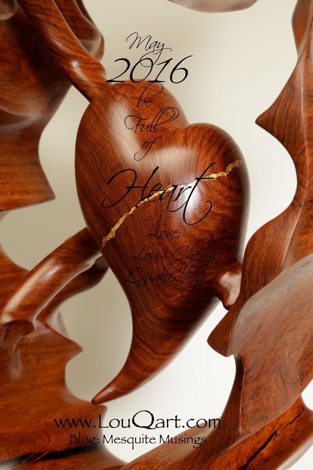 Mesquite Heart Lou Quallenberg