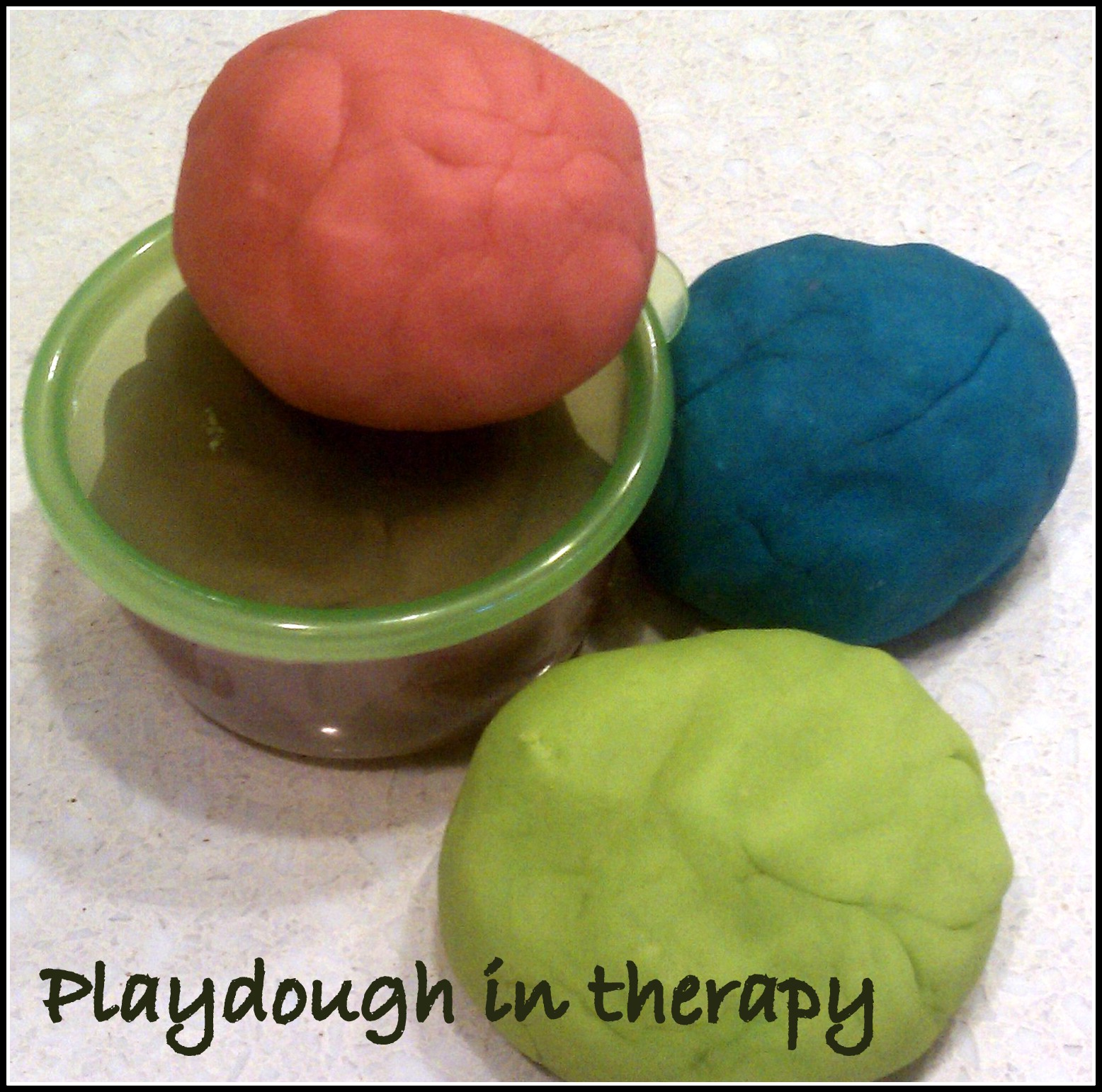 Playdough in Therapy | Creativity in Therapy | Carolyn Mehlomakulu