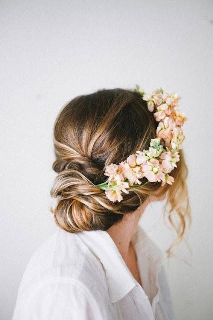 Look coronas de flores