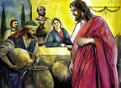 Cud W Kanie Galilejskiej Biblia