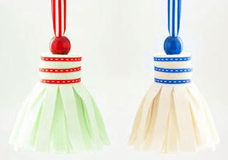 Enfeite para decoração natalina de feltro