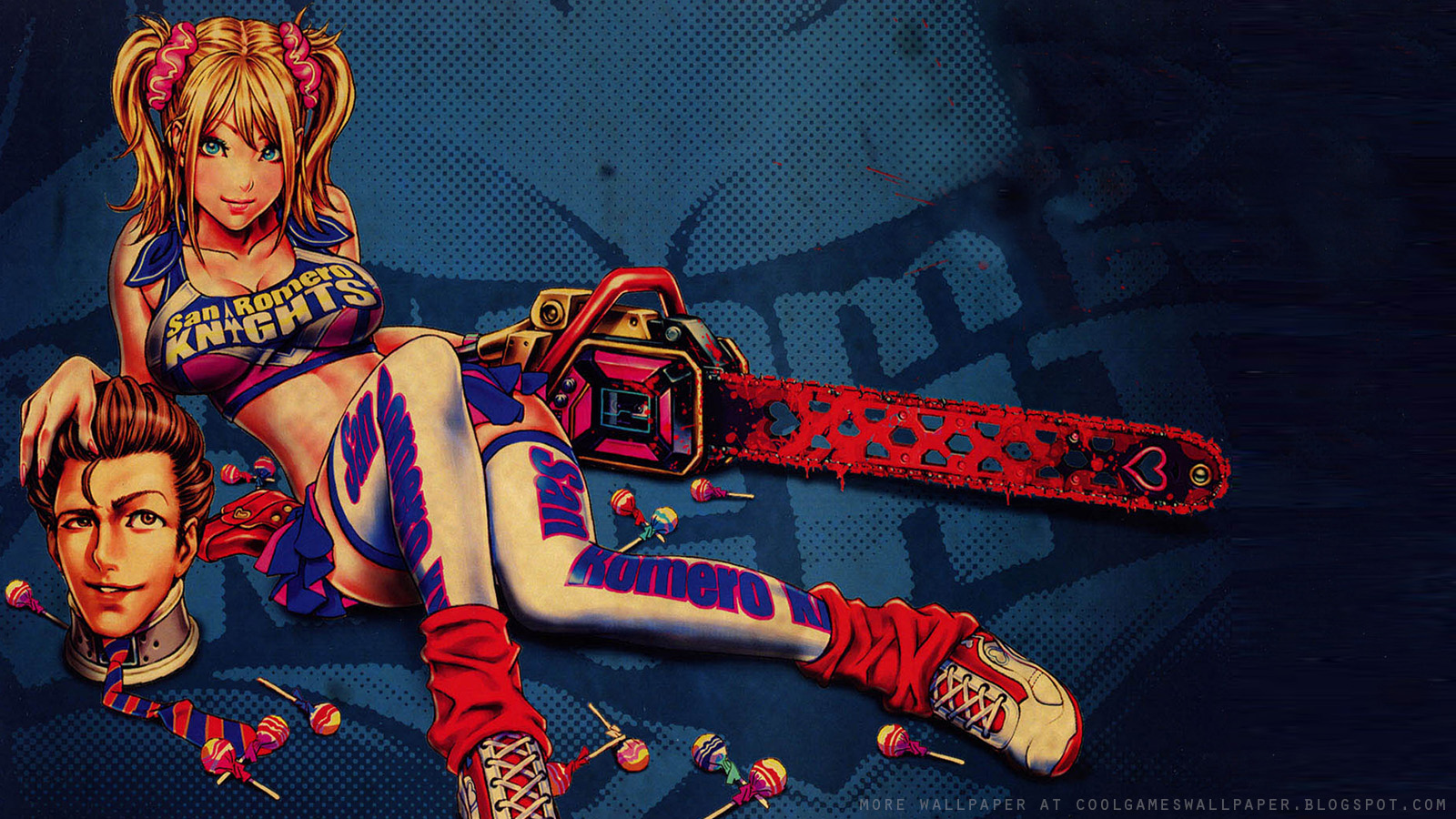 juliet cheerleader zombie hunter wallpapers - Juliet Cheerleader Zombie Hunter Wallpapers HD