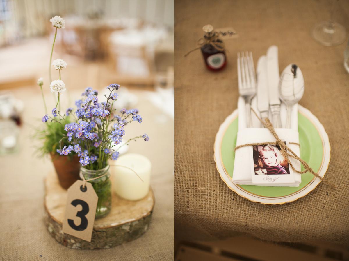 Bodas rusticas centros de mesa parte 1 for Adornos d mesa para boda