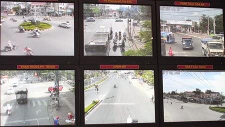 Đồng Nai gắn camera tự động để bắt vi phạm giao thông
