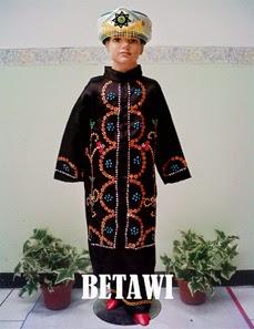 baju adat anak betawi