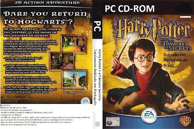 Harry Potter e a Câmara Secreta PC DVD Capa