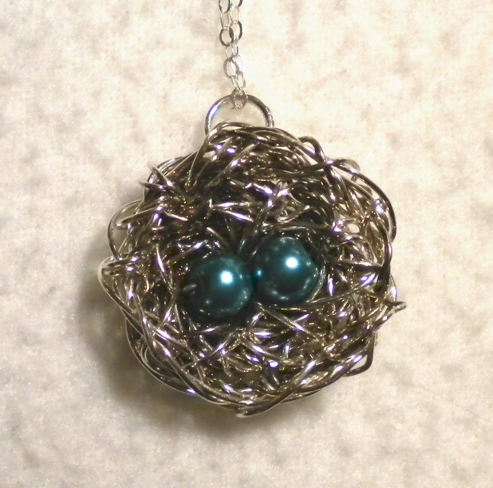 sherri s jubilee bird nest necklaces