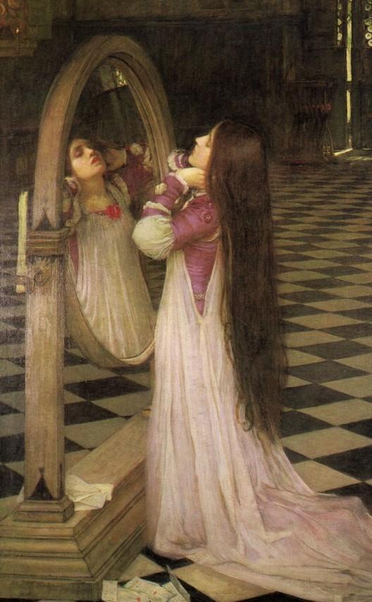 La mode au fil de l 39 histoire reflets de mode le miroir for Fille au miroir