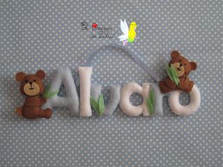 nombre-en-fieltro-Alvaro-decoración-infantil