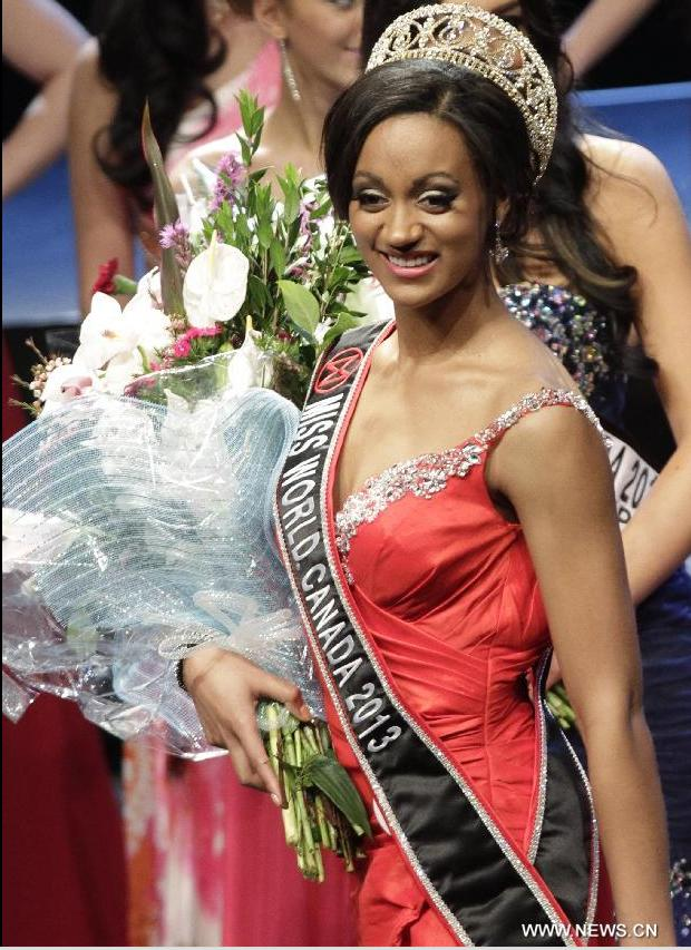 Miss World Canada 2013 crowned