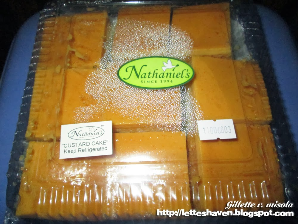 Nathaniel's Custard Cake