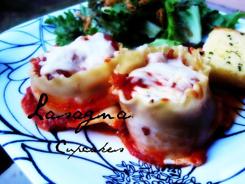 Cupcake Apothecary: Lasagna Cupcakes