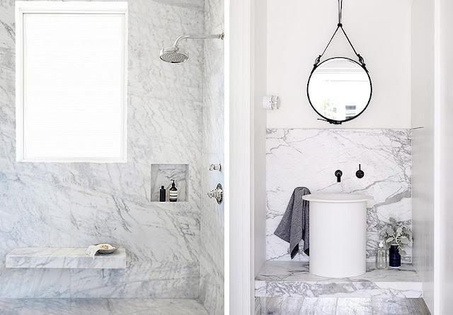 Mármol para baños