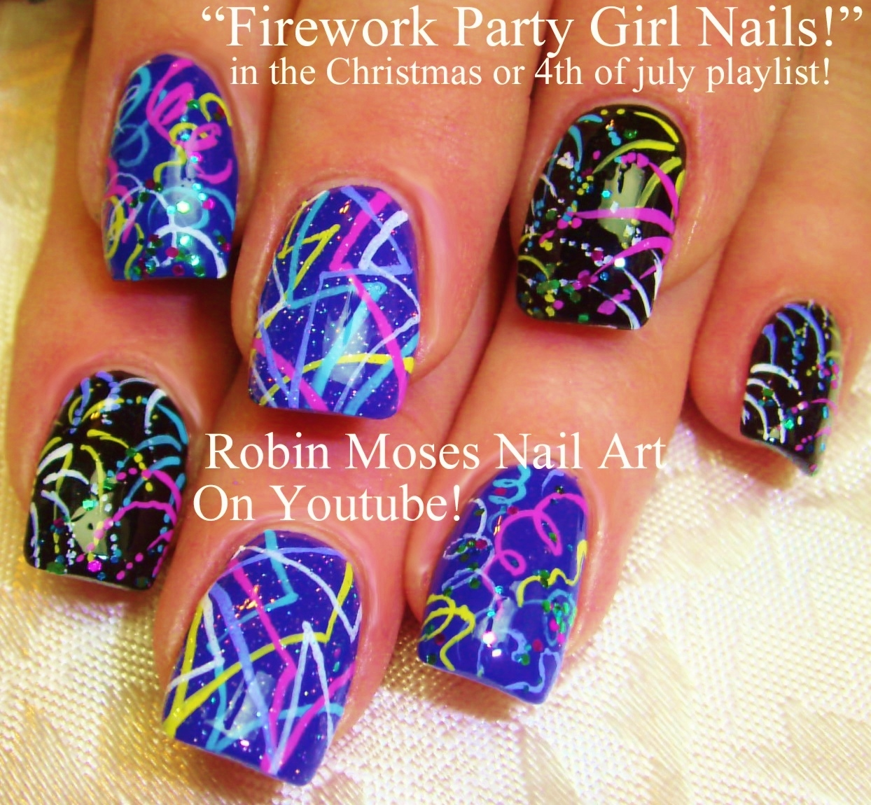 Robin moses nail art 2015 here are tons of nye nail art ideas for you to design and have fun painting prinsesfo Image collections