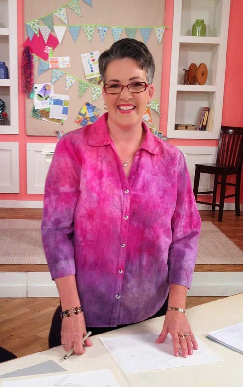 Host of Quilting Arts TV