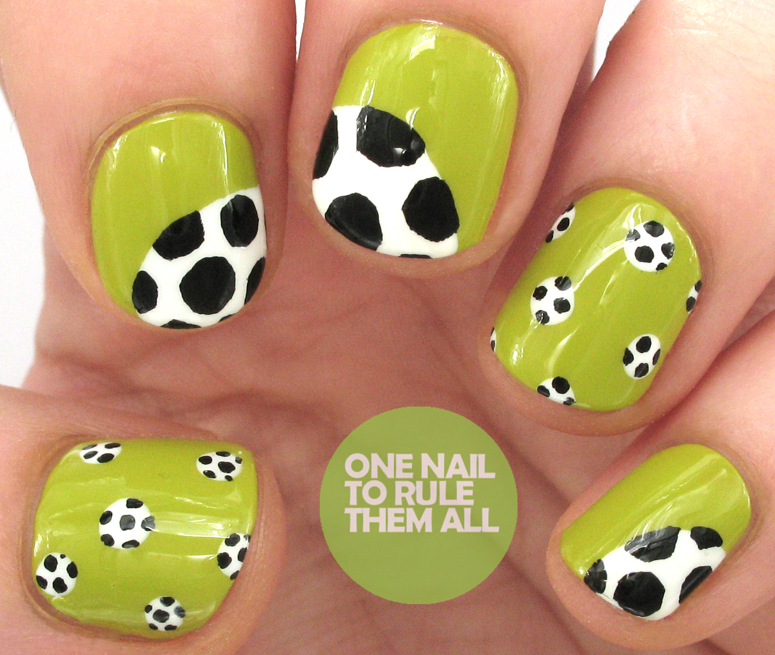 One Nail To Rule Them All Barry M Nail Art Pens Review: One Nail To Rule Them All: World Cup Final Nail Art For