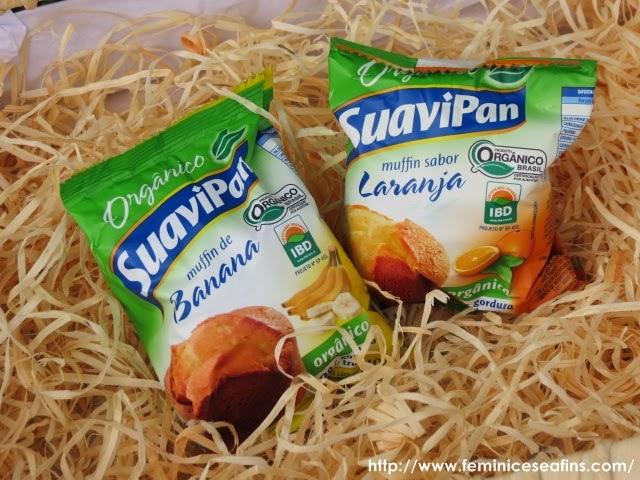 Muffin Orgânico Suavipan